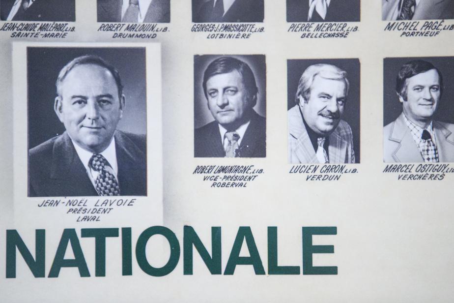 Photo affichée de Robert Lamontagne, oncle du ministre