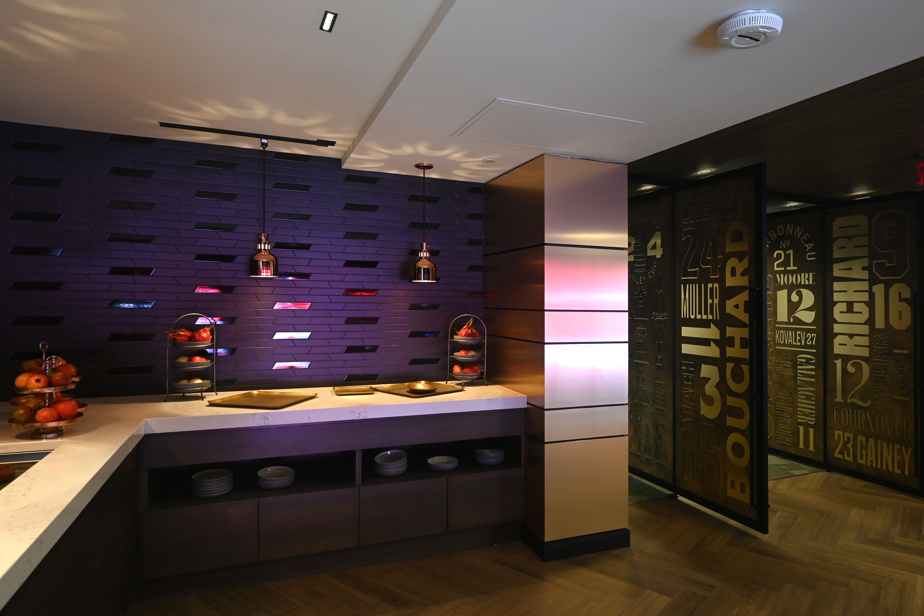 Le nouvel espace VIP au Centre Bell