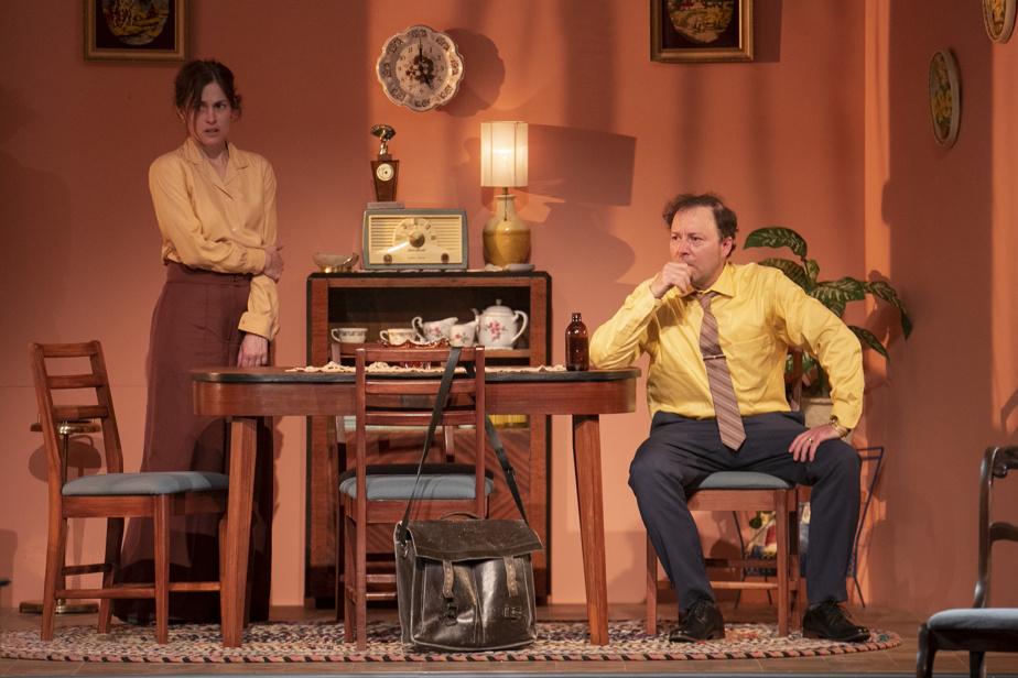 Madeleine Péloquin et François Chénier interprètent les parents fantasmés du jeune Claude.