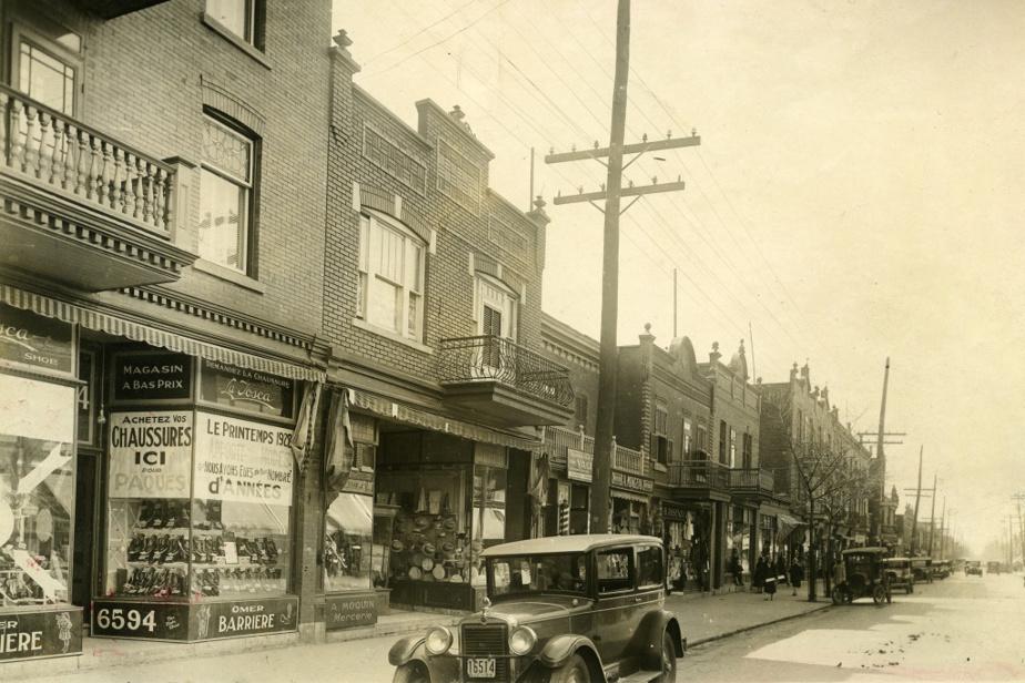 Toujours en 1928, côté ouest, entre Beaubien et Saint-Zotique