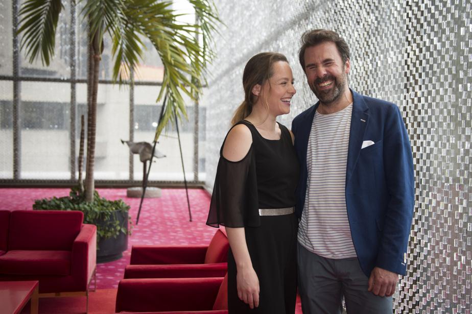 Les Rendez-vous Québec Cinéma se poursuivent jusqu'au 8mai. Cette édition propose près de 300films, dont plusieurs premières, ainsi que des rencontres virtuelles et présentielles. Sur la photo: Lauren Hartley et BrunoMarcil.