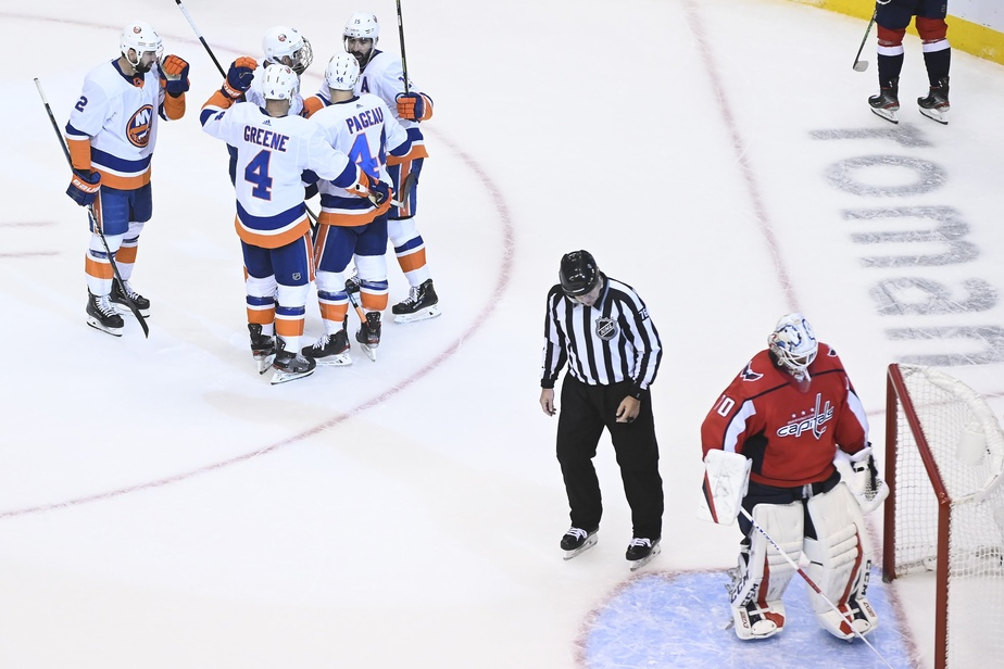 Stanley Cup : Ovechkin maintient Washington en vie - Hockey - NHL