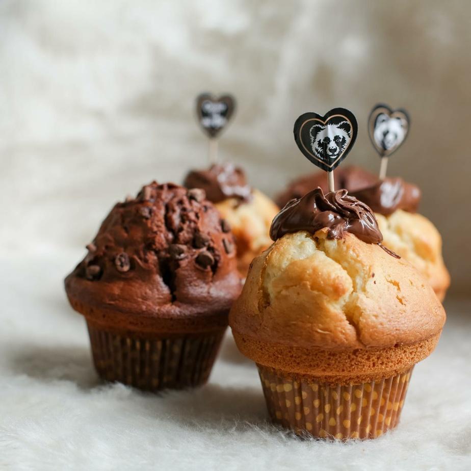 Les muffins, gâterie signature de l'endroit