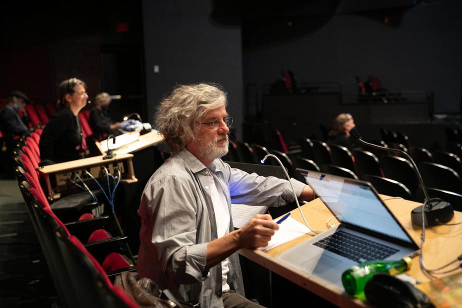 Le metteur en scène de Zebrina, François Girard