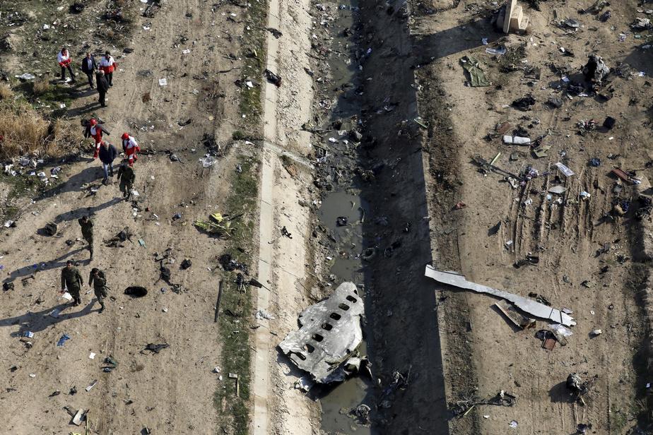 Écrasement d'avion en Iran: l'Ukraine veut