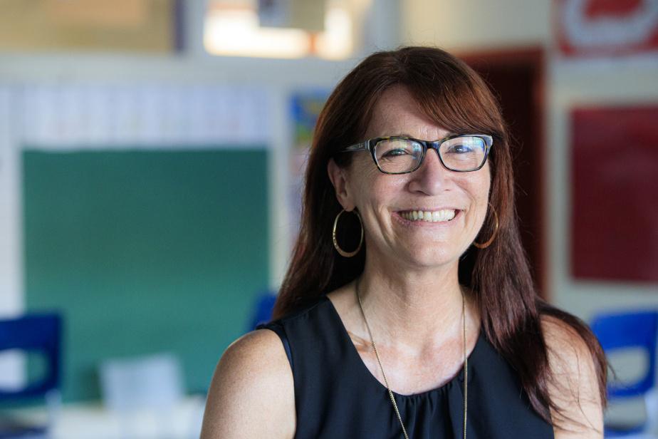 Pauline Cyr, directrice de l'école Mariboisé, à Saint-Jérôme