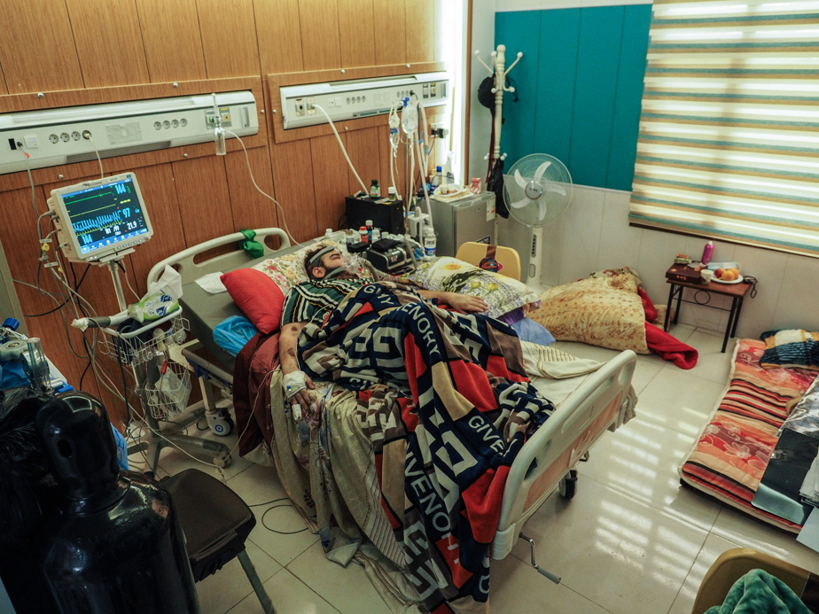 Sadk Haider, 24, has been in the hospital for 26 days.