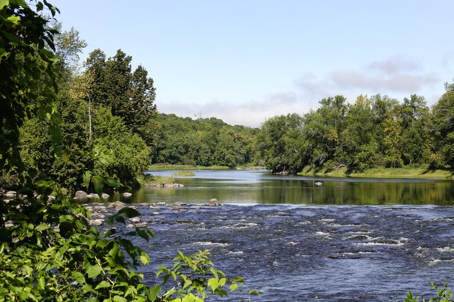 La rivière du Nord, à Saint-André-d'Argenteuil