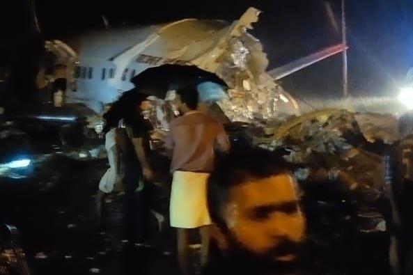Atterrissage en catastrophe d'un avion de ligne ; plusieurs morts signalés (photos) — Inde