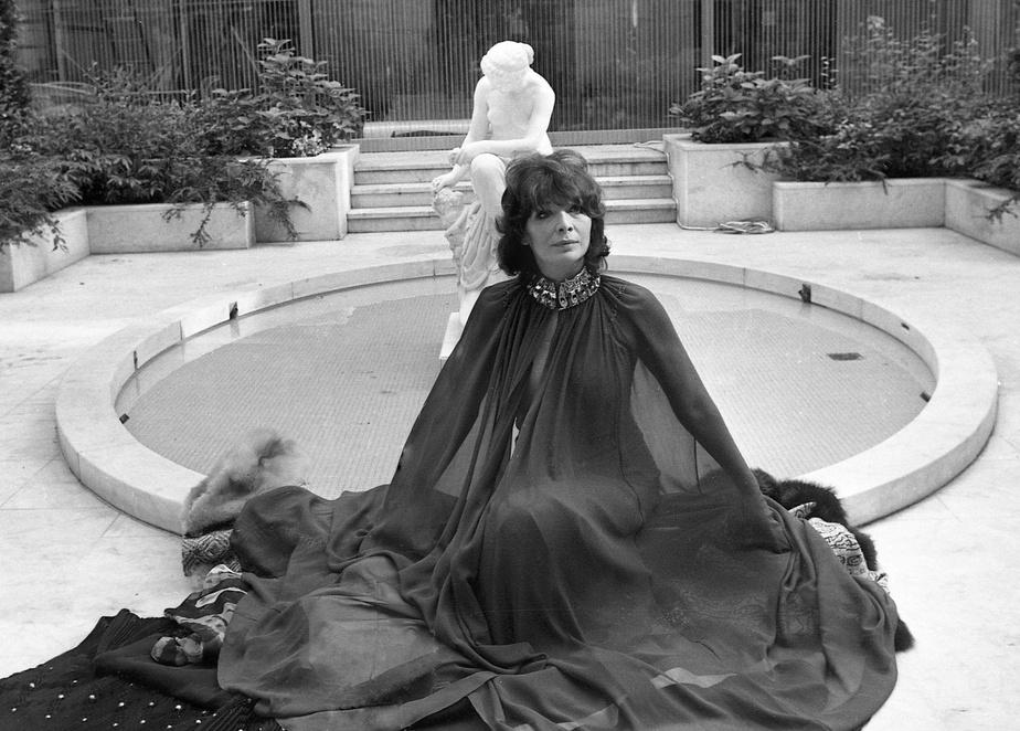 Photographiée à Paris, en octobre1970
