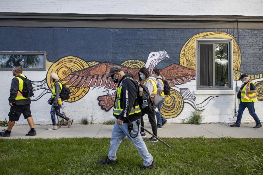 «Les autochtones sont nettement surreprésentés parmi les sans-abri, en raison d'un héritage de déplacements et de colonisation», dit Kristiana Clemens de l'organisme End Homelessness Winnipeg.