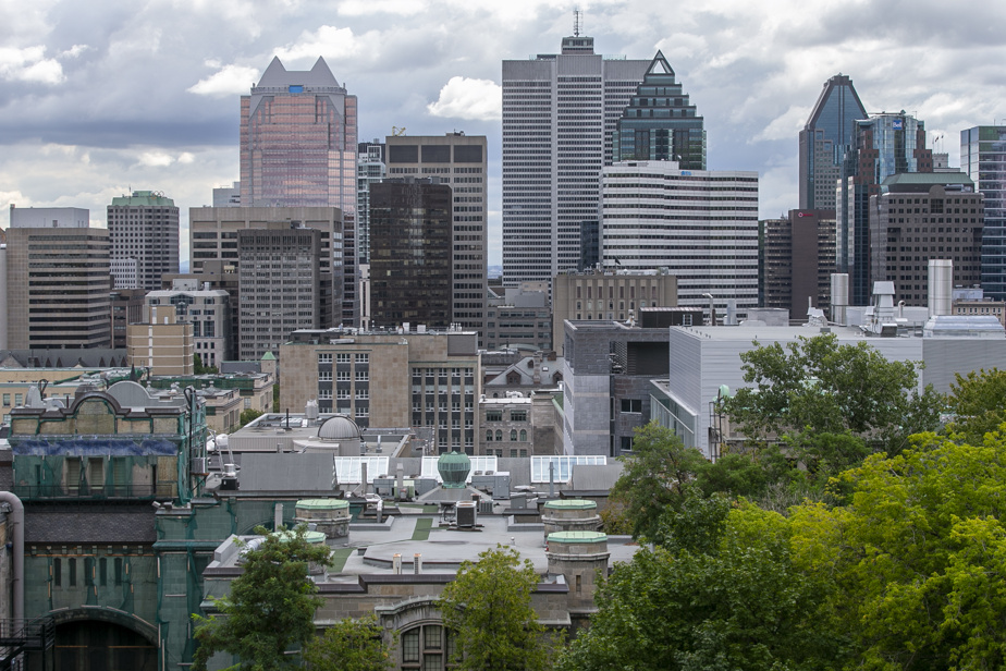 This site offers a beautiful view of Montreal.
