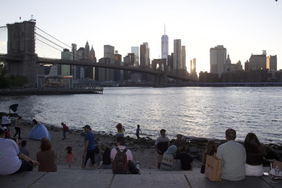Les New-Yorkais vivent beaucoup dehors avec la pandémie.