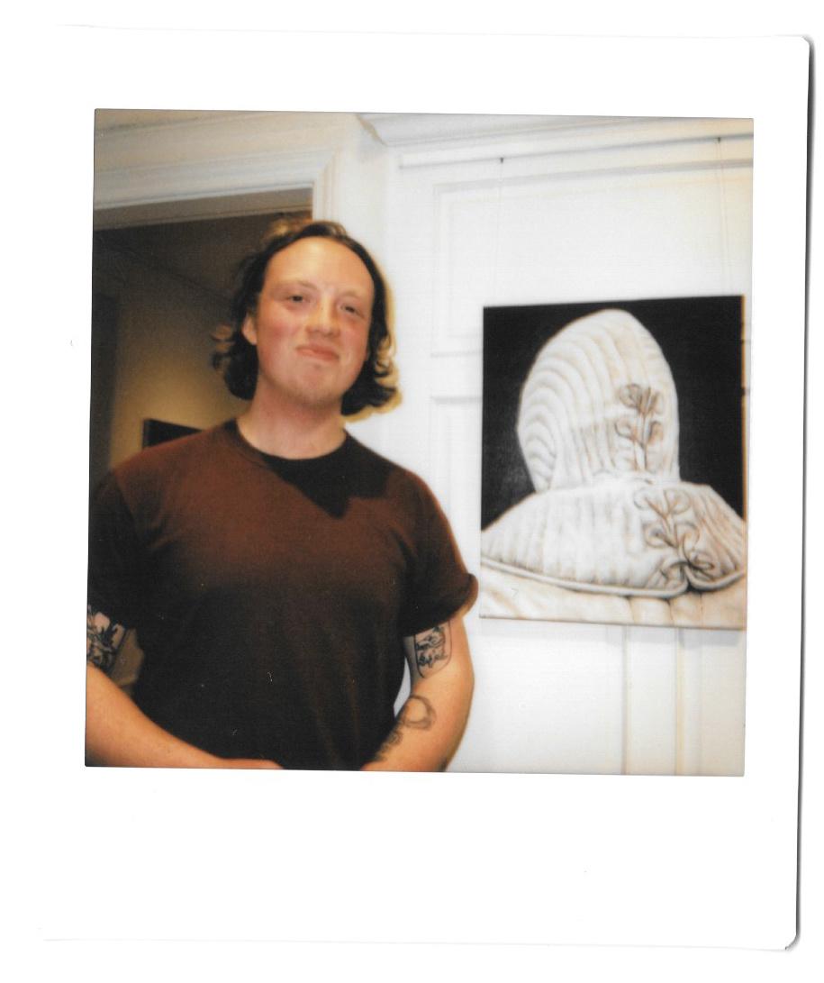 L'artiste Trevor Bourke