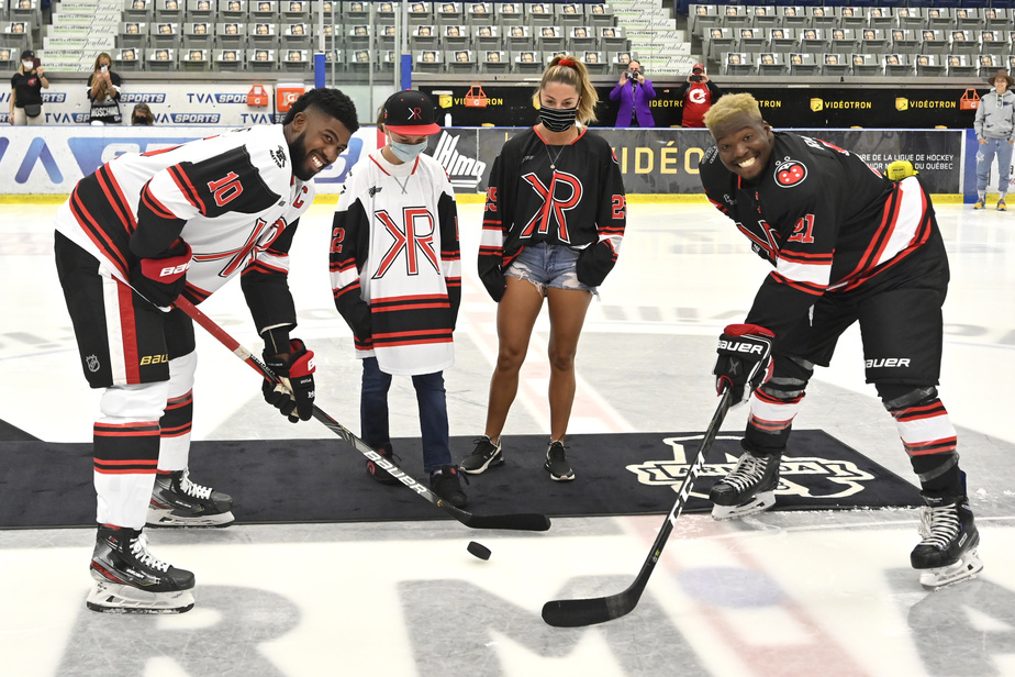 Anthony Duclair, Laurence Payette, Kim Clavel et Kevin Raphael