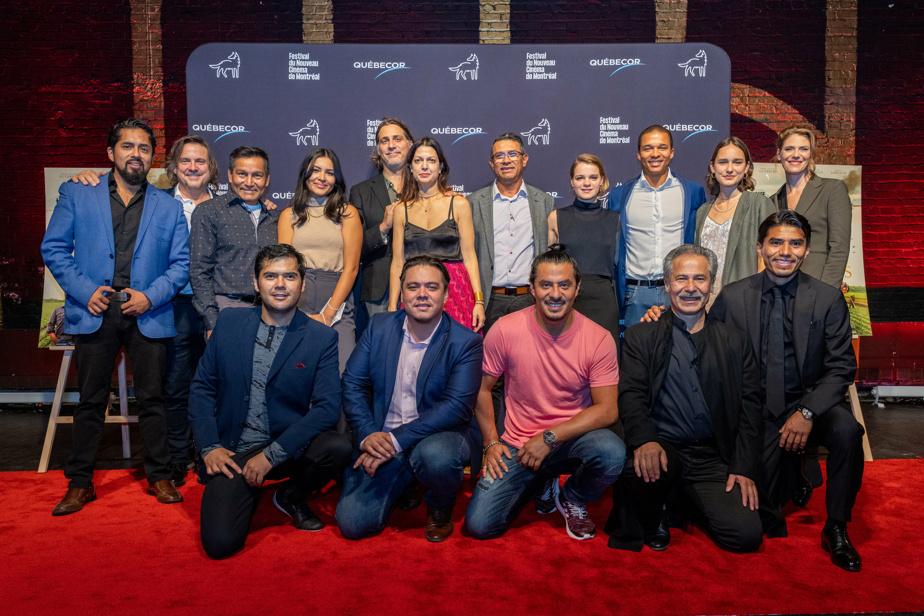 Les artisans, tant les acteurs que les gens qui ont contribué à la création du film réalisé par IvanGrbovic et coscénarisé avec l'aide de SaraMishara, étaient présents pour l'occasion.