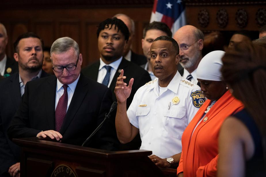 Six policiers blessés par balle à Philadelphie, le forcené arrêté — États-Unis