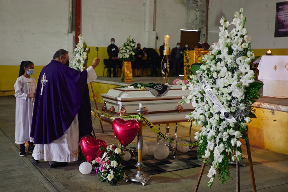 Une messe a été célébrée à la mémoire de la boxeuse.