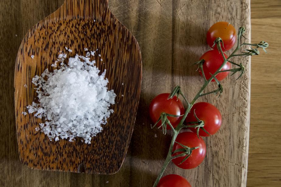 Trois entreprises d'ici se sont lancées presque simultanément dans la production de sel de mer issu des eaux de l'estuaire du Saint-Laurent.