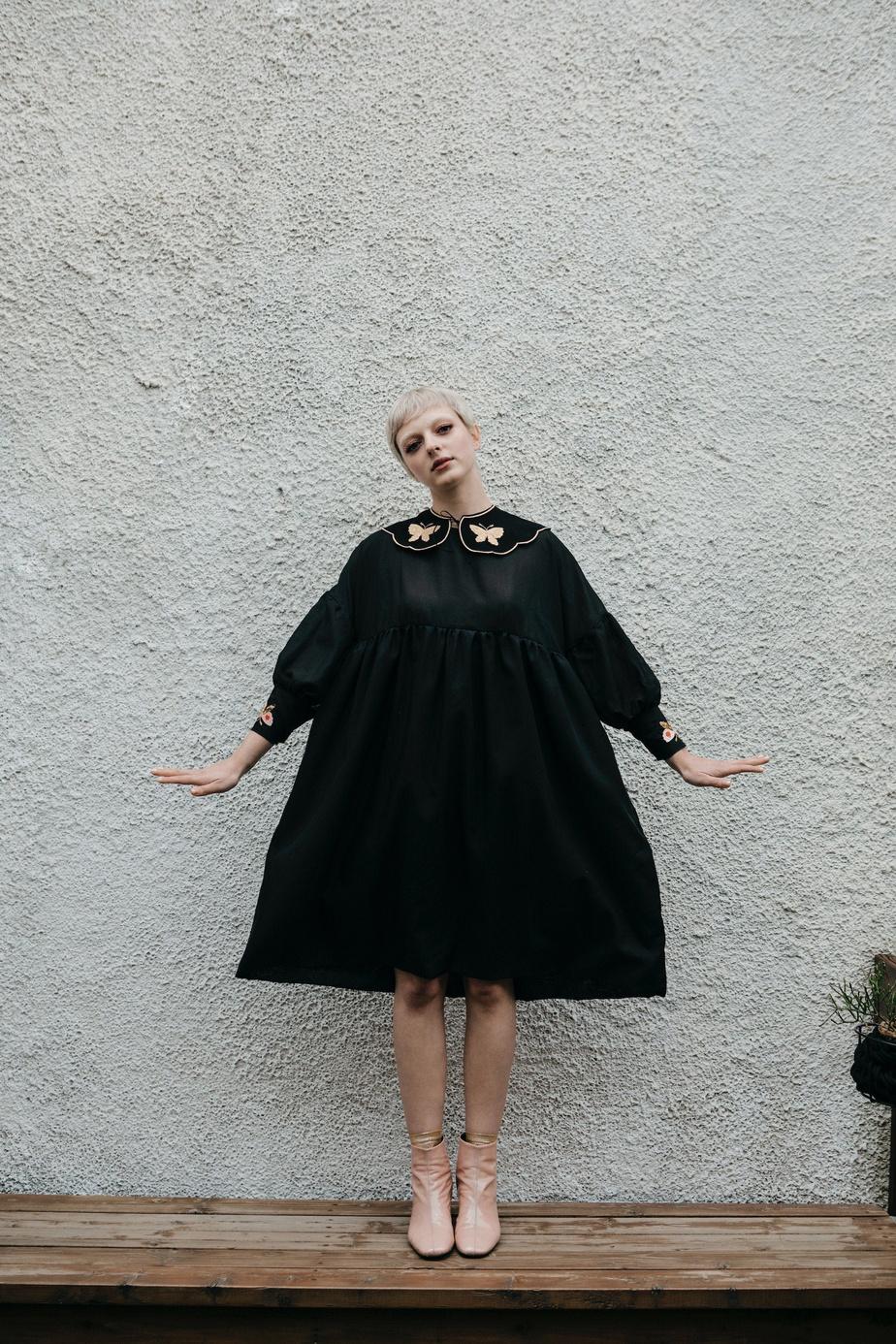Robe Celia, de collection Ciel Pommelé, 224$