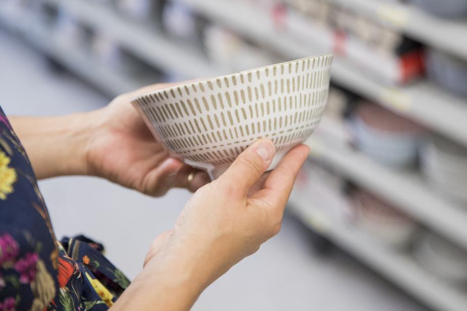 Un effort de design a été fait pour les bols proposés en rayon.