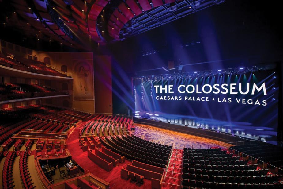C'est au Colosseum, conçu par Scéno Plus, que Céline Dion a présenté son premier spectacle permanent à LasVegas.