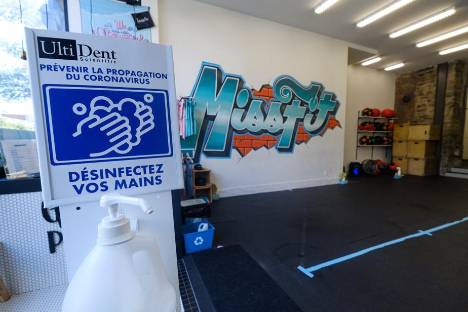 À la succursale du gym Missfit située sur le boulevard Saint-Laurent, le système d'inscriptions en ligne facilitera la mise en place du passeport vaccinal. Le code QR des habituées sera validé à une reprise, puis une note sera inscrite à leur dossier, explique la propriétaire, StéphanieDerome. «On préfère vraiment plus faire ça que de fermer», affirme-t-elle.