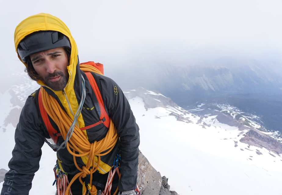 Bruno-Pierre Couture a un curriculum vitae d'aventurier et d'alpiniste bien rempli.