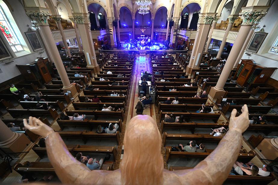 Le festival de musique Santa Teresa a accueilli 250personnes mercredi soir, sous le toit de l'église Sainte-Thérèse-d'Avila.