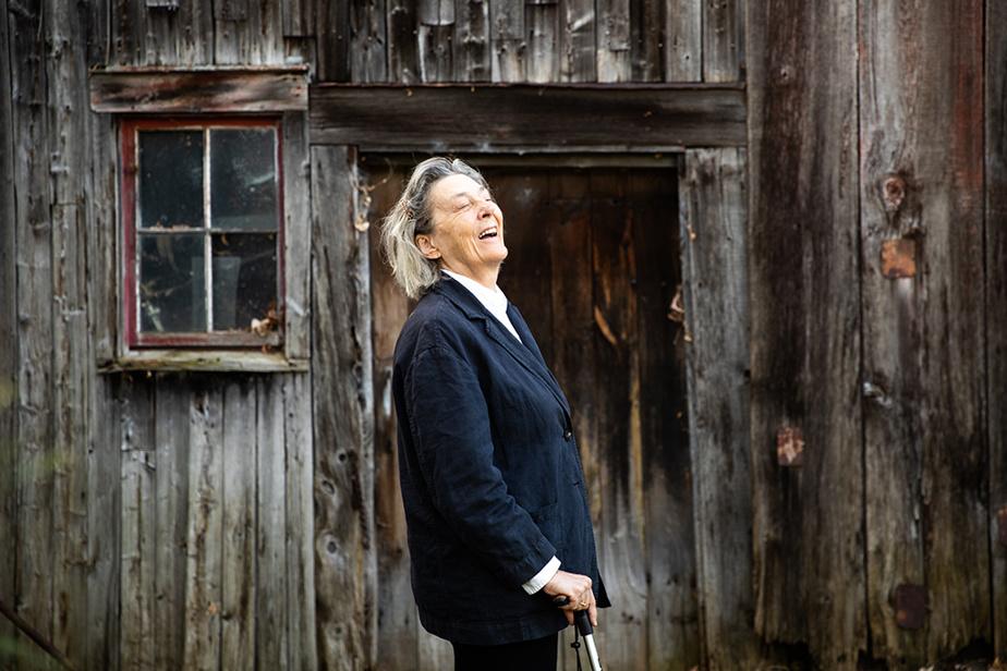 10novembre2020. Portrait de la réalisatrice et écrivaine Paule Baillargeon pour la sortie de son livre Une mère suivi des textes de Trente tableaux.