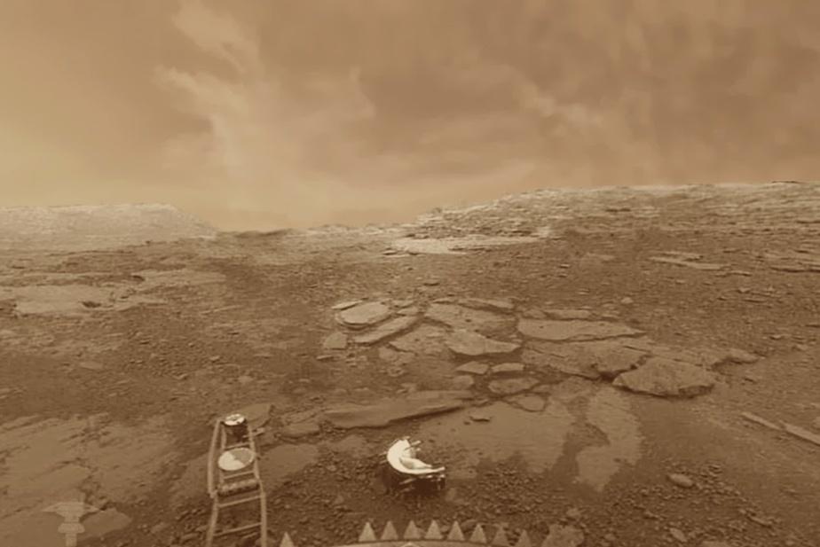 Un possible signe de vie dans les nuages de Vénus