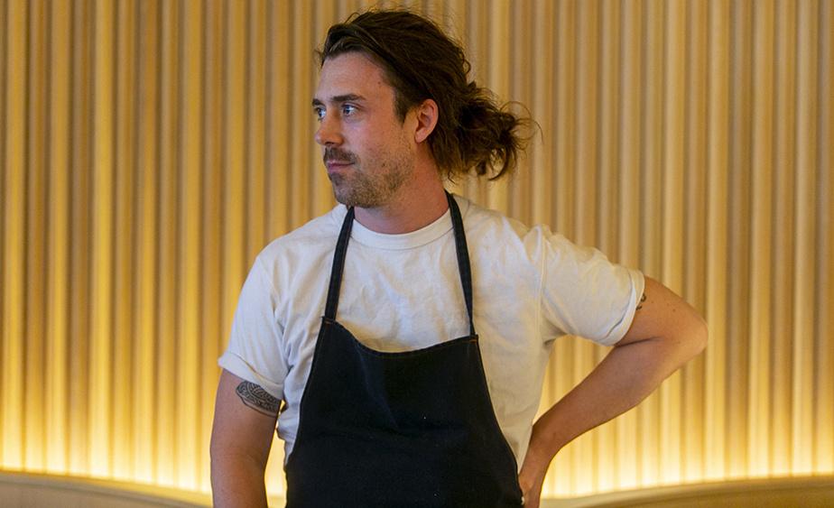 Jason Morris est le nouveau chef du restaurant Marcus.