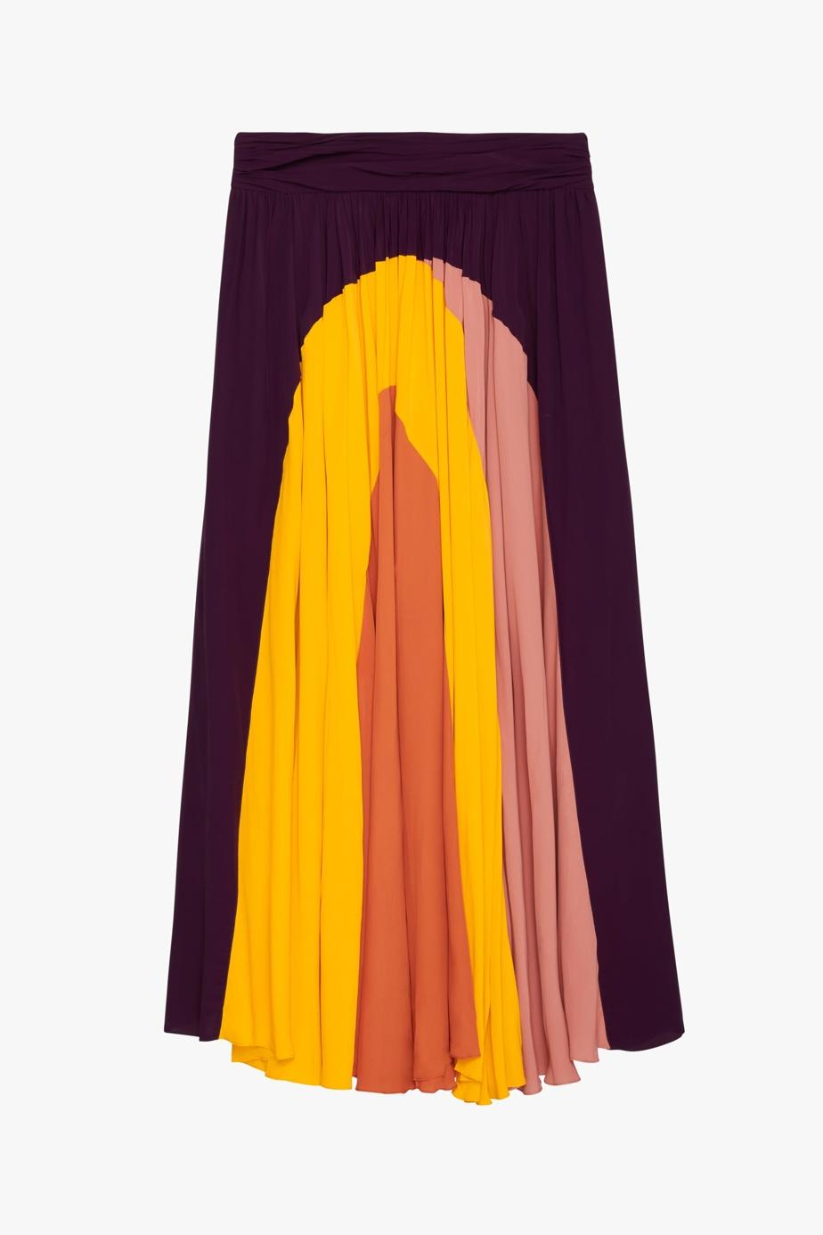 Jupe longue à motifs graphiques, Zara, 139$