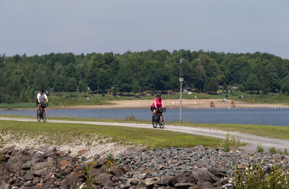 Si l'on ne quitte pas le tracé du circuit, il n'est pas nécessaire de payer les droits d'accès au parc.