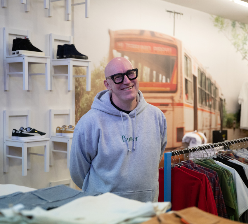 Graeme Anthony, copropriétaire de la boutique Lopez MTL