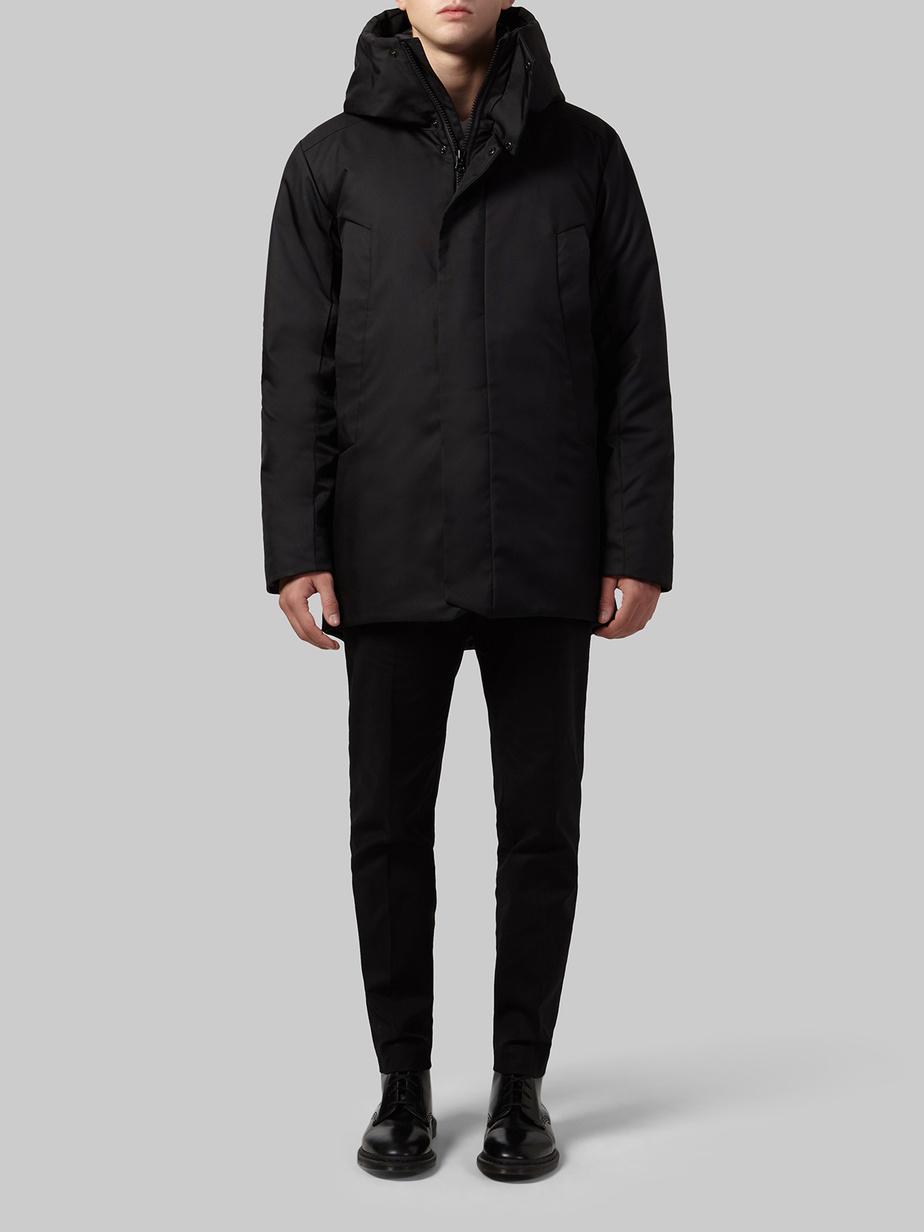 Manteau mi-long pour hommes en Econyl avec isolation multicouche Exkin Air (-25°C), 747$