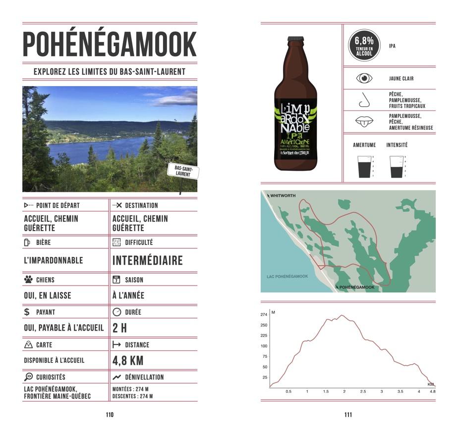 Plusieurs microbrasseries méconnues, comme Le Secret des Dieux, de Pohénégamook, se retrouvent dans le livre Randos bière au Québec.