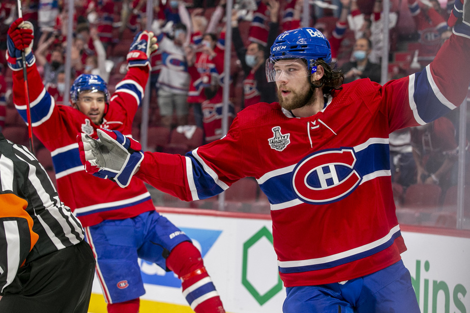 Josh Anderson a marqué deux buts pour le Canadien lors du match #4 de la finale de la Coupe Stanley