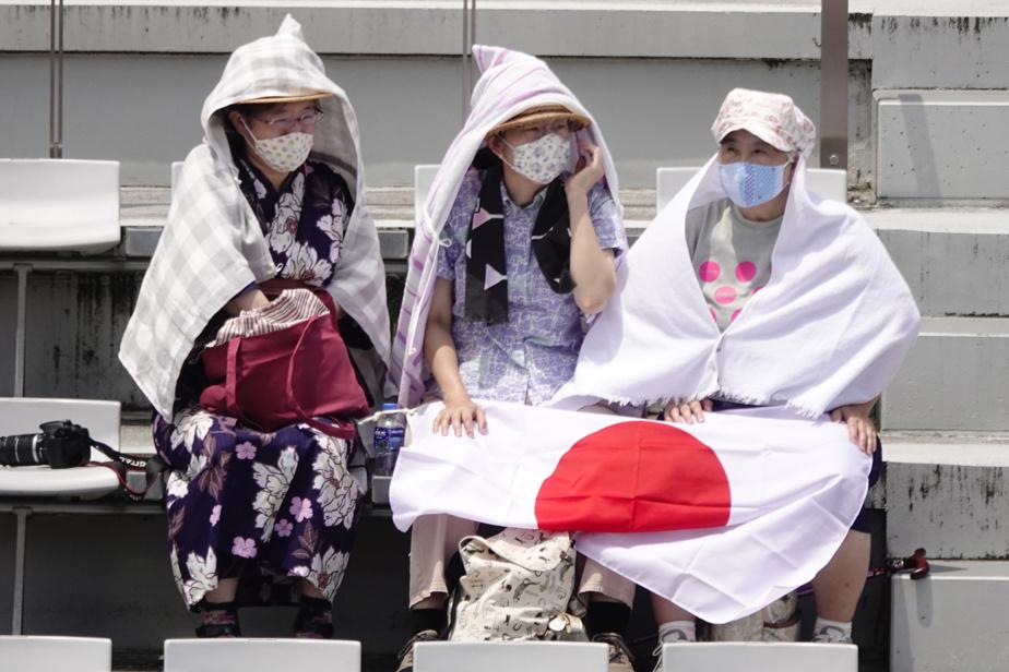 Bien que les Jeux se déroulent à huis clos, un certain nombre de spectateurs étaient admis au Fuji Speedway pour assister à cette épreuve.