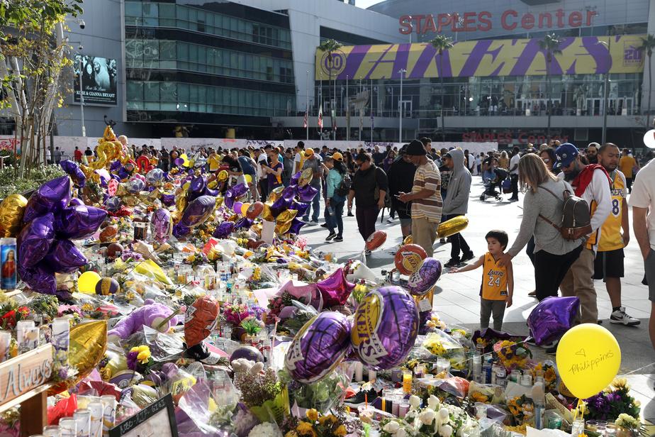 Mort de Kobe Bryant: L'hommage exceptionnel des Lakers pour