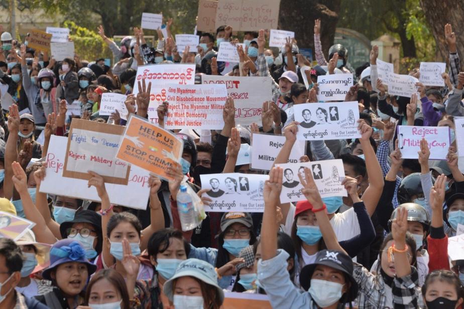 Et le lendemain, 12février, toujours à Naypyidaw.