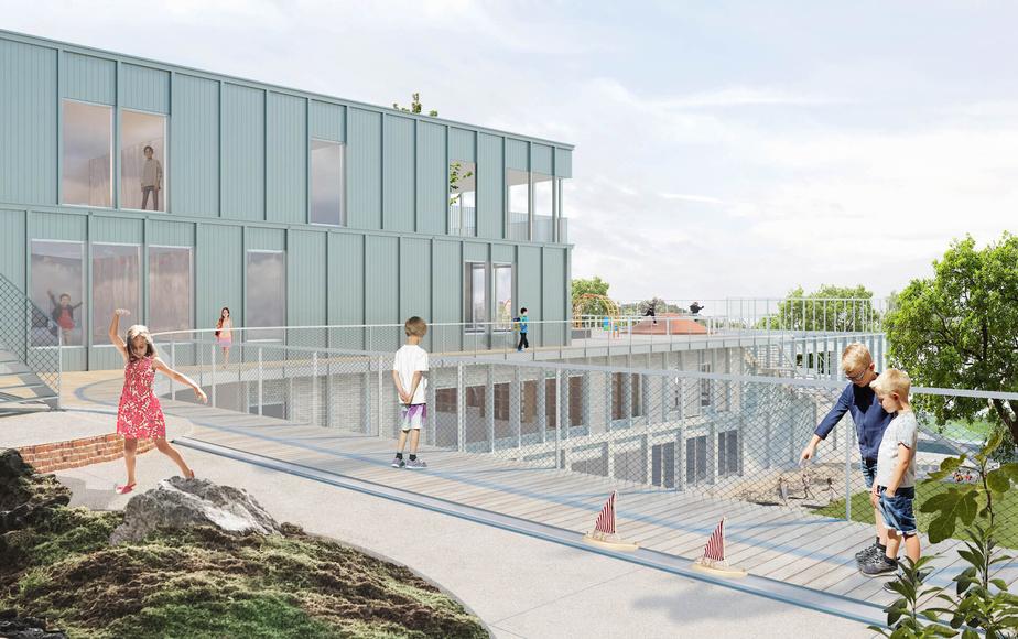 L'école de Québec sera située dans le quartier Limoilou.