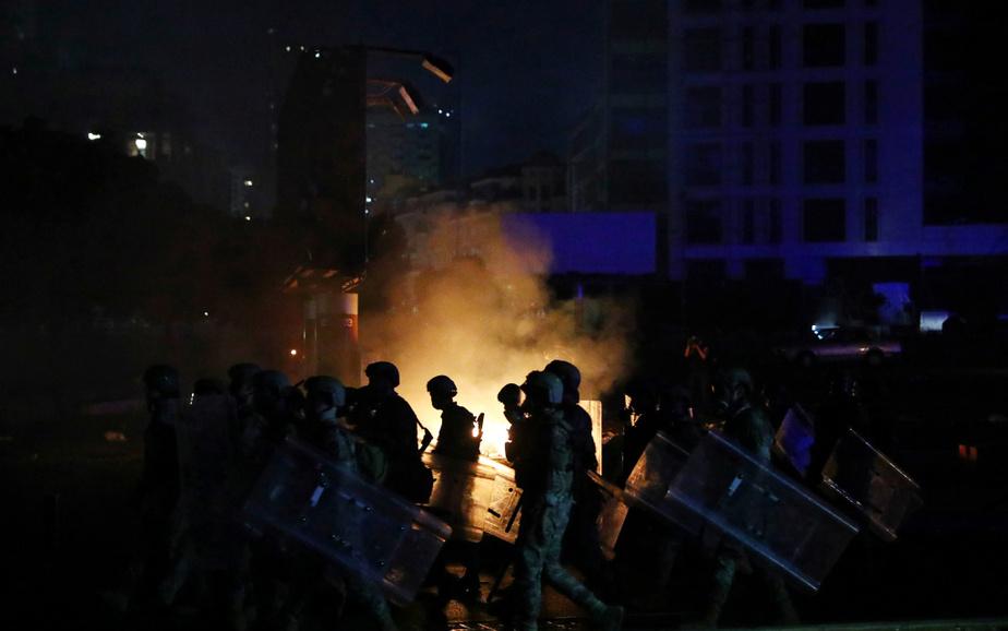 Des membres de l'armée libanaise ont tenté de mater la contestation.