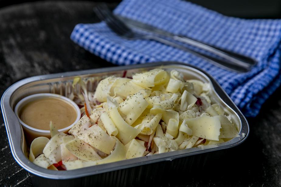 Salade croquante multi-légumes