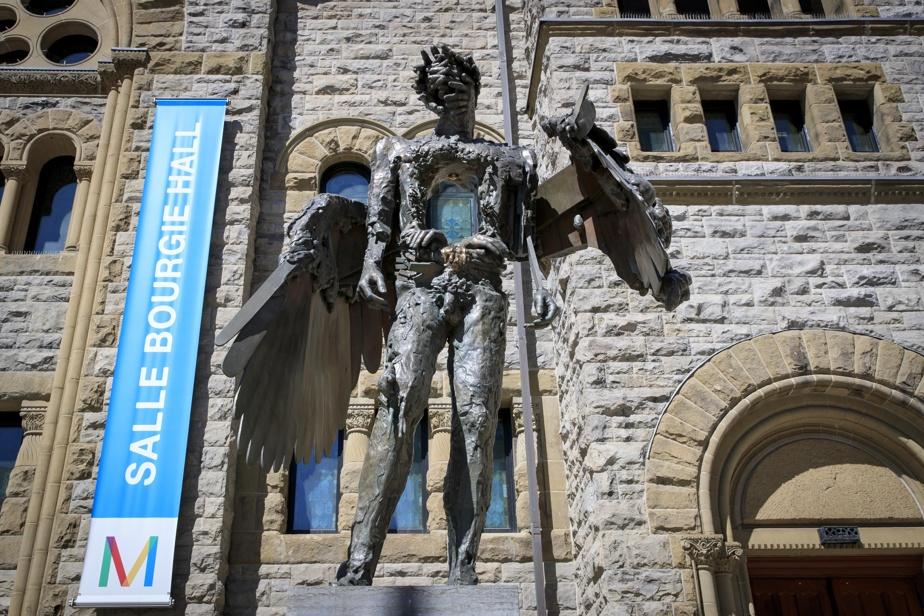 L'œil, 2010-2011, David Altmejd, bronze, fonte Atelier du Bronze, Inverness (Québec). Collection MBAM.