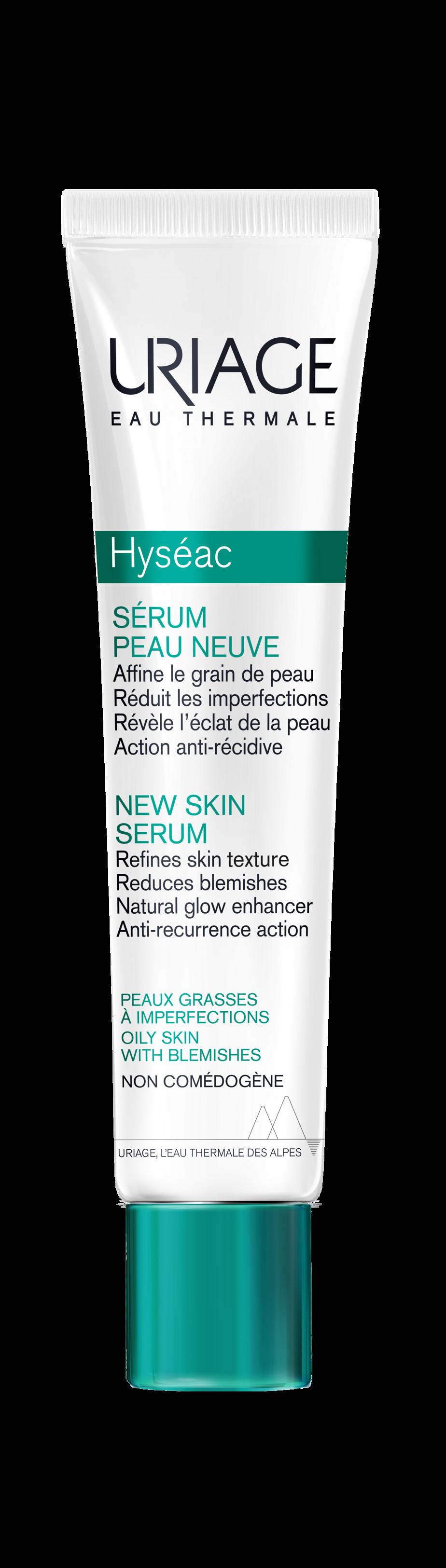 Le sérum peau neuve de la gamme Hyséac d'Uriage
