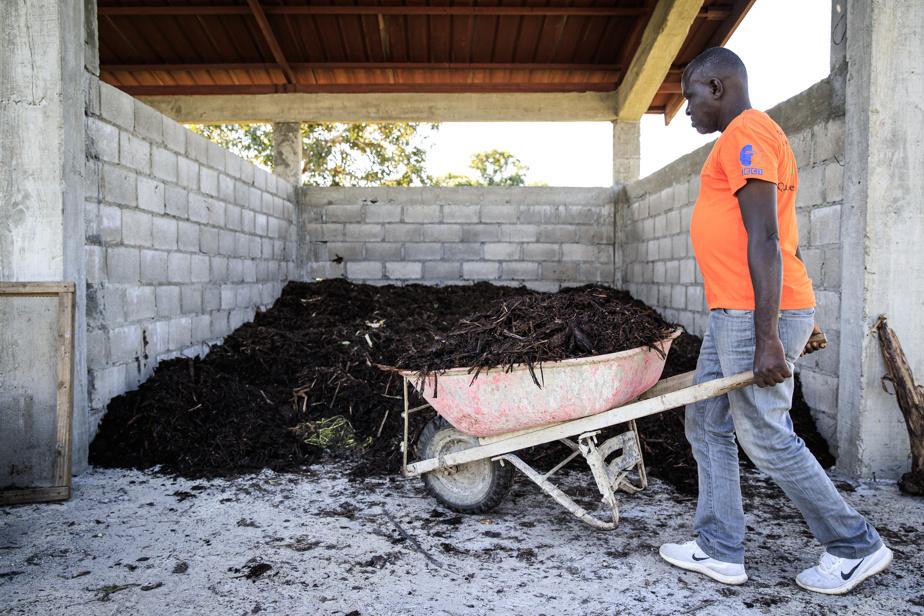 Le projet devrait produire annuellement de 200 à 300tonnes de compost qui servira notamment à un nouveau projet de reboisement.