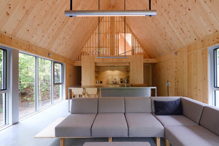 La cuisine des chalets BESIDE a été conçue par À hauteur d'homme.