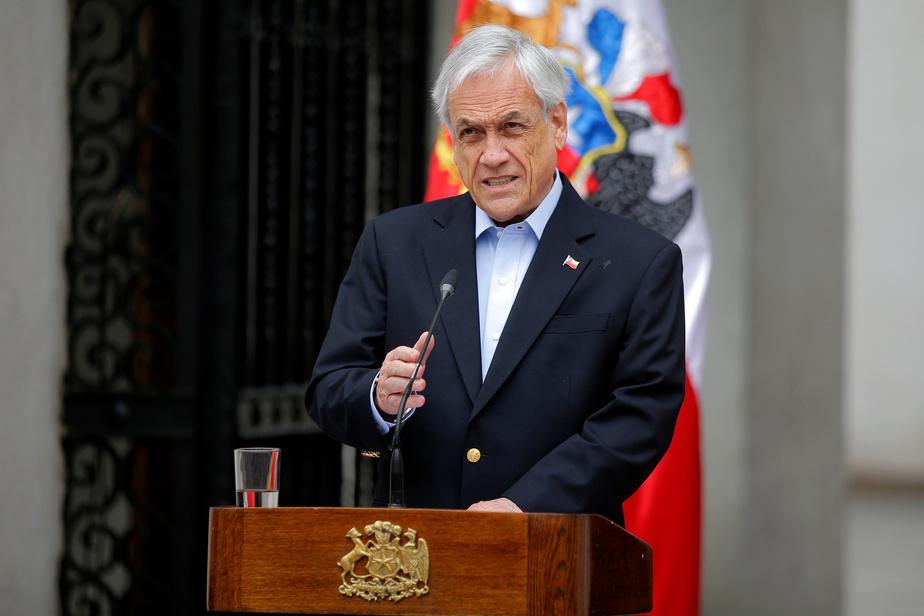 Chili : manifestation énorme contre le gouvernement