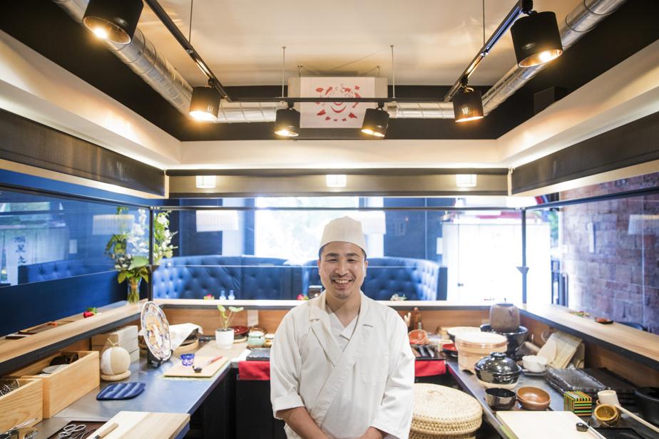 Le chef-propriétaire de l'Okeya Kiujiro, Takuya Matsuda